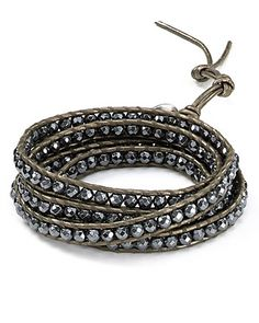 Love this bracelet...gonna try and figure out how to make my own version that doesn't cost a fortune.