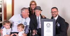 Israel Kristal, 112, lost his family in the Holocaust and weighed 81 pounds when the Allies freed him from a labor camp. Now, he has been declared the world's oldest man.