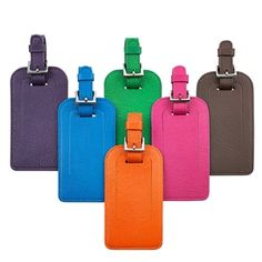 Luggage Tag, Brights Leather