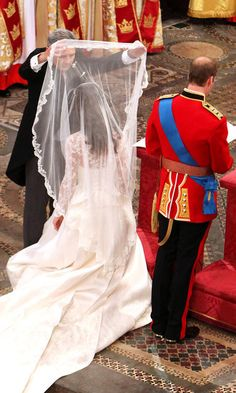 Priceless moment at the royal wedding.