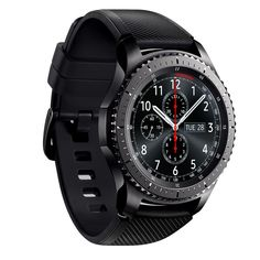 Samsung Gear Frontier Smartwatch GPS Bluetooth Fitness Heart Rate Outdoor Wearable Smart Watch Waterproof For iPhone Android Army Watches, Watches For Men, Sport Watches, Application Samsung, Smart Watch Brands, Smartwatch Bluetooth, Apple Smartwatch, Bluetooth Watch, Bracelet Silicone