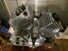 Morini 350 engine build Engineering Works, Bike Details, Motorcycle Engine, Moto Guzzi, Cars And Motorcycles, 3, Badass, Wheels, Ceiling Lights