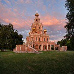 Фотограф Николай Сапронов - Устремленная в Небеса. Церковь Покрова в Филях.