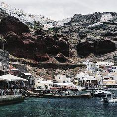 Scenes from Ammoudi Bay