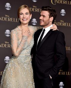 You know Lily James from Downton Abbey and Richard Madden from Game of Thrones, but the release of Disney's Cinderella on March 13 is bound to make them even more familiar.