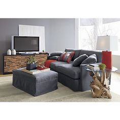 Driftwood Coffee Table in New Furniture   Crate and Barrel