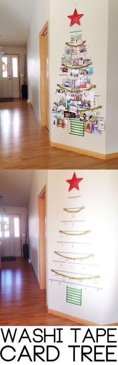 クリスマスツリーマスキングテープ
