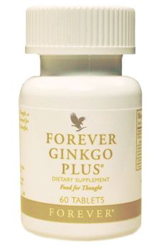 Forever Ginko Plus ... Ginkgo biloba is a remarkable supplement for the brain to feed your creativity. Increases circulation of blood to the brain, aids mental fatigue and mood. Increases concentration, alertness, energy and metabolism. Maintains energy levels throughout a busy day.