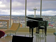 Real photo of Escala penthouse - can't you picture Christian playing piano here?