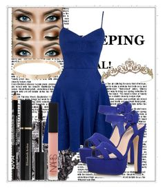 """""""Untitled #24"""" by mariaclair ❤ liked on Polyvore featuring moda, Urban Decay, Ali Ro, Miss KG, NARS Cosmetics e Elizabeth Arden"""