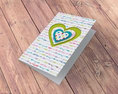No beauty shines brighter than that of a good heart! 🤍 Hello card makers! Get the #BonCrayon paper pack here » 🧡💛💚💙💜❤️🤍 #ladypatternpaper #basicessentials #cardmaking #cardmakingideas #cardmakinginspiration #cardmakingsuperpower #cardmakinghobby #cardmakingsupplies #cardmakingaddicts Card Making Supplies, Heart Cards, Card Making Inspiration, Card Maker, Pattern Paper, Scrapbook Paper, Cardmaking, Embellishments, Craft Projects