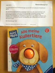 Ravensburger Mini Steps - Alle meine Kullertiere  #produkttest #ravensburger #kullertiere