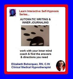 Automatic Writing allows direct contact with one's Creative or Subconscious Mind. This Interactive eBook contains two Self-Hypnosis Sessions that takes you directly into contact, encouraging inner conversations & the birth of ideas. This is also an opportunity to edit old, outdated mind files & replace them with new, healthy versions that match your Desires.