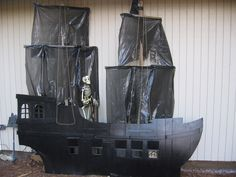 Cardboard Pirate Ship.
