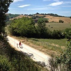 Summer stroll in Amandola  www.sibillinislow.com