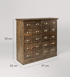 Swoon Editions Cabinet, Modern country style in mango wood - £379