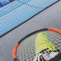 Pinを追加しました!/#修行 なう #tennis #wilson #burn95cv #nike