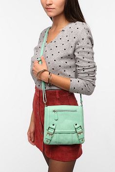 just ordered this BDG Crossbody bag from UO in mint. can't wait to see it!