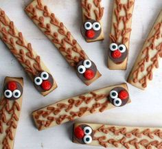 DIY Rudolph Cookie Sticks | Whimseybox