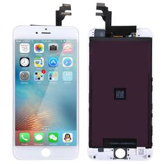 (175.00$)  Buy here - http://aik9s.worlditems.win/all/product.php?id=32757930742 - 5.5 inch 100% Guarantee Quality AAA LCD Screen For iPhone 6 Plus LCD Touch Display Glass Digitizer Assembly (Black White)