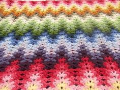 3d illusion afghan block pattern | Repin Like Comment