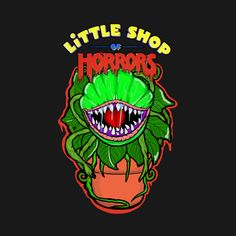 Shop Little Shop of Horrors Audrey II littleshopofhorrors t-shirts designed by as well as other littleshopofhorrors merchandise at TeePublic. Actress Eva Green, Little Shop Of Horrors, Horror Monsters, Horror Art, Great Movies, Cool Art, Musicals, Monster Movie, Shirts