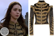 Shop Your Tv: Reign: Season 1 Episode 3 Mary's Military Style Jacket