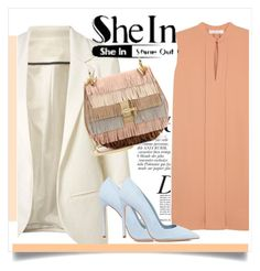 """""""Shein contest !!"""" by dianagrigoryan ❤ liked on Polyvore featuring mode, Anja, Chloé en Dee Keller"""
