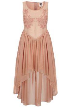 **Asymmetrisches Kleid Mit Stickerei Von Coco's Fortune