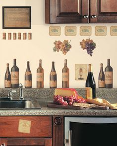 wine kitchen theme - Google Search