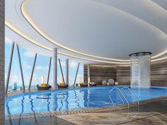 The st. regis shenzhen luxorium swimming pool gym pinterest