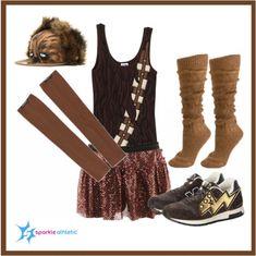 Chewbacca Running Costume | runDisney | Running | Race Costume | Disney | Sparkle Athletic | #TeamSparkle | Halloween | Athletic Costume | Star Wars