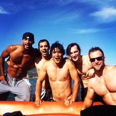 Ricky Whittle, Bob Morley
