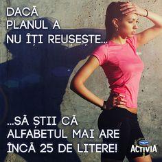Nu renunţa.Să te menţii sănătos e foarte important, pentru tine şi cei dragi!   #ProvocareaActivia www.activia.ro/ProvocareaActivia