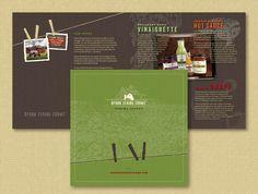 Marketing brochure for Apron String Farms, Santa Rosa, CA