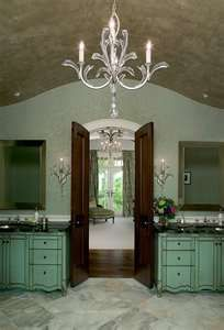 I like the stained french doors