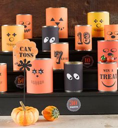 Halloween Tossing Game - Get ready for a fun Halloween tossing game - #kids…