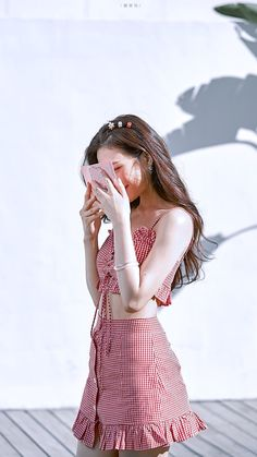 Image about fashion in Red Velvet by tomatoro Red Velvet Joy, Red Velvet Irene, Kpop Fashion, Korean Fashion, Fashion Outfits, Fashion Hair, Seulgi, Korean Girl, Asian Girl