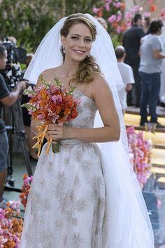 Vestido de noiva novela Império