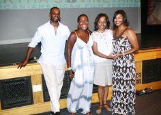 F.Rance, S.Rance Deborah Riley Draper (director) and Keisha Taylor (CNN) - Deborah won the CNN outstanding Documentary award.