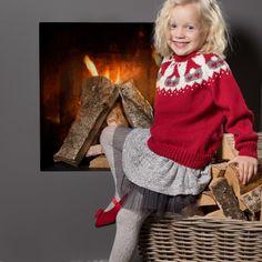LG18-57 Nisseungens julegenser   Linde Garn Christmas Sweaters, Kids, Fashion, Young Children, Moda, Boys, Fashion Styles, Christmas Jumper Dress, Children