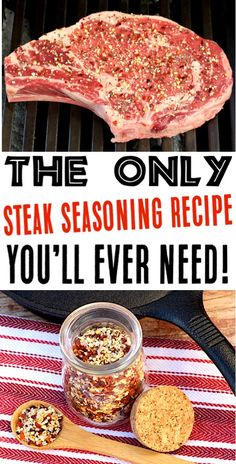 Steak Recipes in Oven, Grilled, or Pan Seared! This Easy Steak Seasoning Recipe … Steak Recipes in Oven, Grilled, or Pan Seared! This Easy Steak Seasoning Recipe with just 5 Ingredients is the perfect way to take your steaks to… Continue Reading → Dry Rub Recipes, Oven Recipes, Grilling Recipes, Cooking Recipes, Vegetarian Grilling, Healthy Grilling, Game Recipes, Barbecue Recipes, Milk Recipes