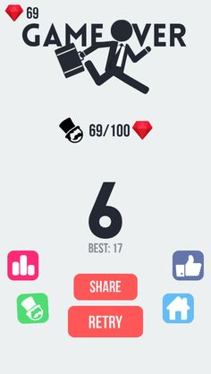OMG! I ran through 6 floors playing Floors #FloorsGame! Can you beat me? https://itunes.apple.com/app/id980810759