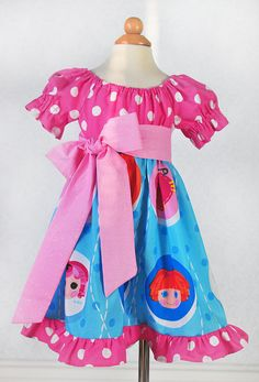 Birthday Lalaloopsy Party Dress