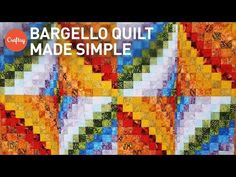 NEW! Bargello quilt project made simple | Quilting Tutorial with Angela Walters…