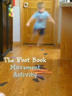 Love the combination of early literacy and gross motor/movement! Movement Activity for The Foot Book by Dr. Suess