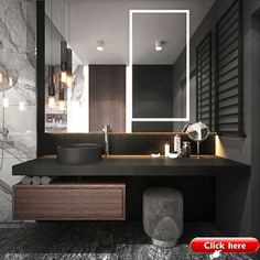 4 Mighty Tips AND Tricks: Contemporary Decor Pieces contemporary furniture window seats.Contemporary Interior Home contemporary decor pieces. Dark Bathrooms, Small Bathroom, Dyi Bathroom, Bathroom Fixtures, Bathroom Remodeling, Luxury Bathrooms, Remodeling Ideas, Bad Inspiration, Bathroom Inspiration