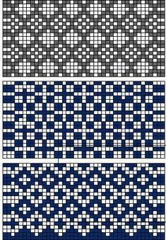 For Tapestry Crochet Fair Isle Knitting Patterns, Knitting Charts, Weaving Patterns, Knitting Stitches, Motif Fair Isle, Fair Isle Chart, Fair Isle Pattern, Filet Crochet, Crochet Chart