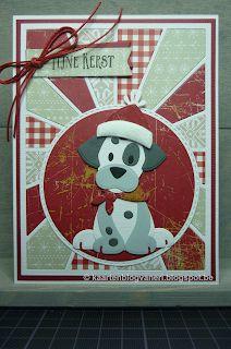 Christmas Dog, Handmade Christmas, Christmas Cards, Xmas, Christmas Ornaments, Paper Punch Art, Dog Cards, Die Cut Cards, Marianne Design