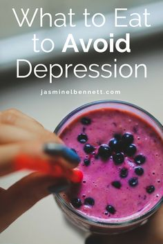 What Foods I Eat to Avoid Depression. For Women and Christian Women with Depression and Anxiety. Or Recovering from Depression and Anxiety. Nutrition for Mental Health.